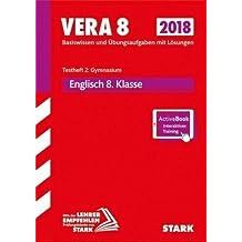 VERA 8 Testheft 2: Gymnasium 2018 - Englisch + ActiveBook