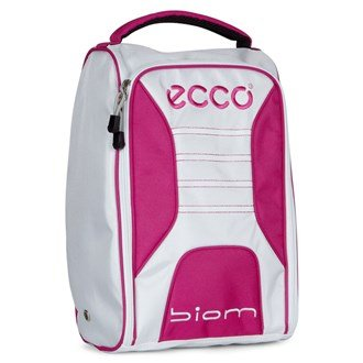 Ecco Golf Ladies 2017 Golf Travel Shoe Bag/Tote White/Candy