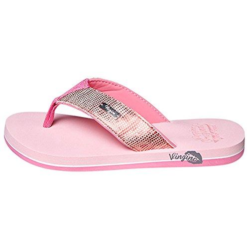 vingino fille séparateurs d'Nicci Flip Flop rose bonbon Rose - Candy Pink