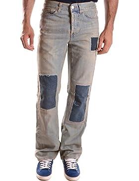 Richmond Hombre MCBI256090O Azul Claro Algodon Jeans