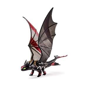 Dragons 2 - Krokmou (Battement des Ailes) avec Rayures de Courses - Figurine Power Dragon
