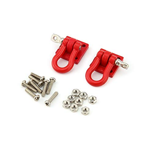 s 1/10 Metal Hook Shackle Rescue Hook for Traxxas TRX-4 Truck Crawler RC Car Model Spare Parts Accessories ()