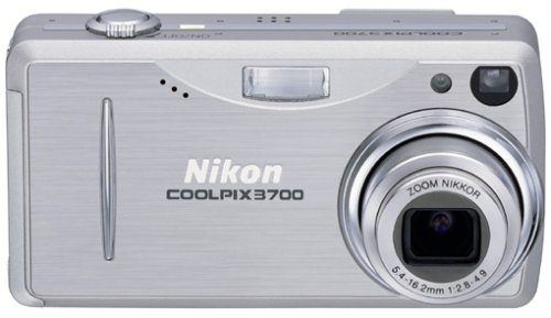 Nikon Coolpix 3700 Digitalkamera (3,2 Megapixel) (3700 Nikon Coolpix)