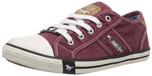 Mustang Damen 1099-302-55 Sneakers, Rot (55 Bordeaux), 40 EU