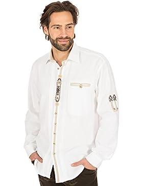 orbis Textil Trachtenhemd Weiss