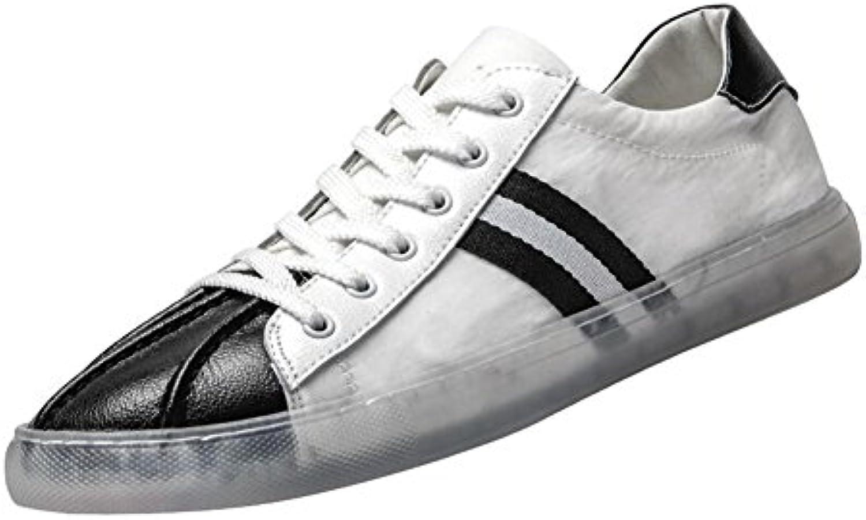 QIDI-Men's scarpe, Espadrillas Basse Uomo Nero Nero Nero Nero EU43 UK9 | Conosciuto per la sua buona qualità  | Uomini/Donne Scarpa  07ff42