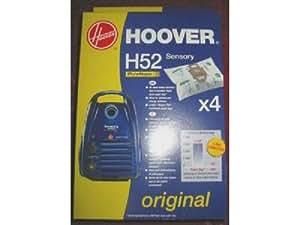 Hoover 09192410 Lot de 4 Sacs d'aspirateurs H52 PureHepa