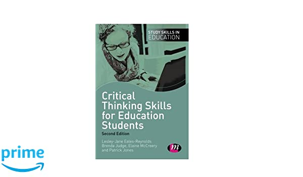 Critical thinking skills for education students  Research paper     Pinterest