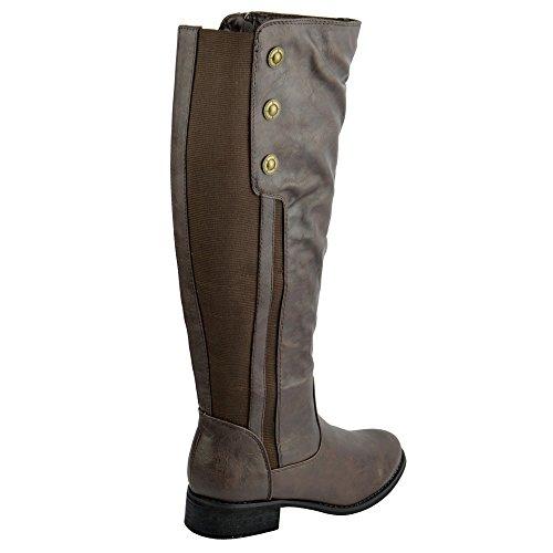 Kick Footwear Kick Footwear, Stivali donna Nero nero Marrone (marrone)