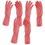 #9: Primeway Flocklined Hand Gloves (Pink, Pack of 3)