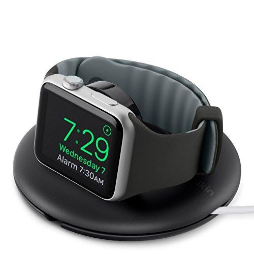 Belkin Supporto da Viaggio per Apple Watch Series 4, Caricabatteria per Apple Watch Series 4, 3, 2, 1