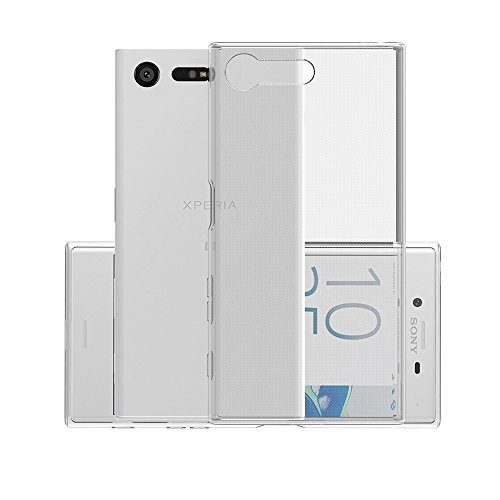 Sony Xperia X Compact Hülle, CANWN Durchsichtig Silikon Schutzhülle Sony Xperia X Compact Transparent Handyhülle Crystal Clear TPU Case