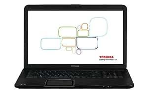Toshiba Satellite C870-19L 43,9 cm (17,3 Zoll) Notebook (Intel Core i3 3110M, 2,4GHz, 4GB RAM, 750GB HDD, Intel HD 4000, DVD, Win 8)