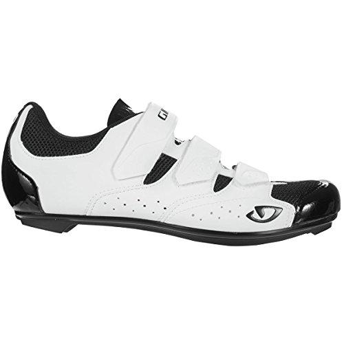 Giro Techne Road, Chaussures de Vélo de Route Homme, Multicolore (White/Black 000), 48 EU