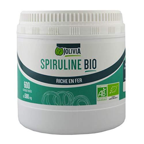 Spiruline Bio - Comprimés de 500 mg - 600 comprimés