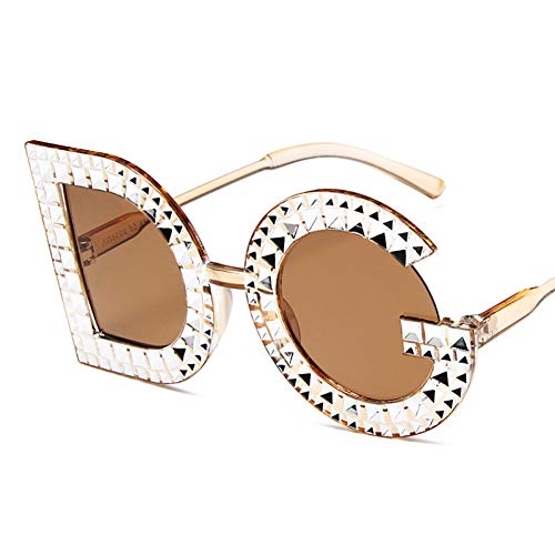 SYQA Mode Brief DG Strass Sonnenbrille Frauen Kristall Sonnenbrille Für Feamle Eyewear,C5