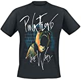 Pink Floyd The Wall Scream Camiseta Negro M