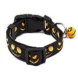 Migavan Einstellbare Hundehalsband mit Glocke für Hund Katze Halloween Party Weihnachten Geburtstage Urlaub