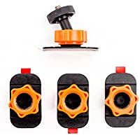 XSories Sticky Mount Noir/Orange