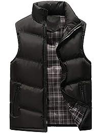 2eb87cadcf59 Clearance Sale  M-4XL  ODRD Herren Pullover Jacke Parka Stehkragen Pure  Color Zipper Weste Mantel Hoodie Männer…