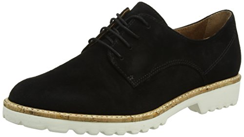 Tamaris Damen 23208 Oxfords, Schwarz (Black), 42 EU