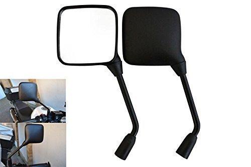 Hervorragende Qualität Roller und Moped Seiten/Rückansicht M8 Glas Spiegel 1 Paar