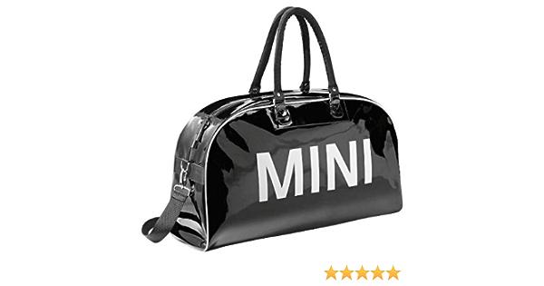 Original Mini Big Duffle Bag Wordmark Black Schwarz Auto