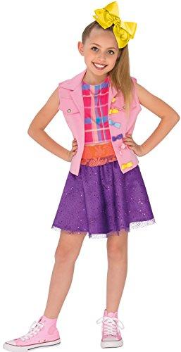 Rubie's 640736S Jojo Siwa Musikvideo-Outfit Faschingskostüm für Mädchen, S (1950's Dress Up Kostüm)