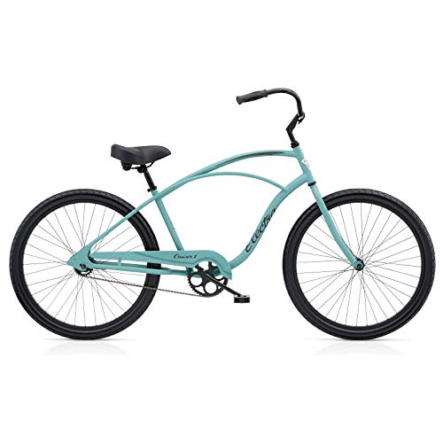 Electra Cruiser 1 Herren Fahrrad Blau 26 Zoll Beach Cruiser Retro Rad Chopper Bike, 571798 - Cruiser Aluminium Beach