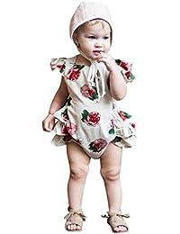 Amazon.es  ropa de bebe niña recien nacida - Rosa   Partes de arriba ... 9828d706caa0