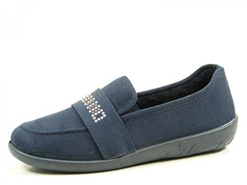 Rohde Ballerup 2228 Pantofole Donna Blau