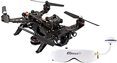 XciteRC 15003650 – Racing Runner 250 RTF FPV Quadcopter Drone FPV with HD Camera by XciteRC