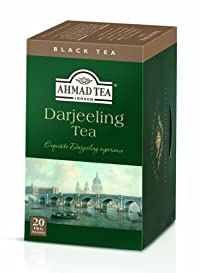 Ahmad Tea Darjeeling Tea, 20-Count Boxes (Pack of 6)