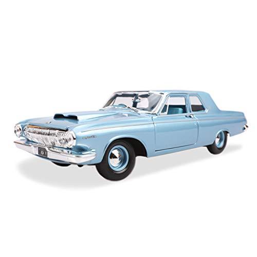 SXET-Auto modello Model Car Die-Casting Model Car Retro Classic Car 1:18 1963 Dodge 330 Modello di Auto in Lega Modello di Auto di Simulazione