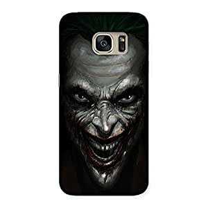 Gorgeous Mad face Multicolor Back Case Cover for Galaxy S7
