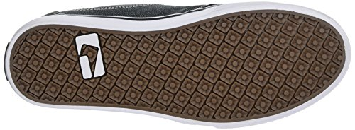 Globe Mahalo, Scarpe da Skateboard Uomo Nero (Black Chambray)