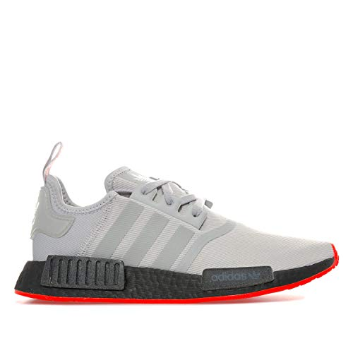 7fb6fcb6d1cca adidas Originals NMD_R1 Herren Sneaker Grau, Grau - grau - Größe: 43 1/