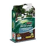 Cuxin Bio Grünpflanzenerde 10-40 l ● Zimmerpflanzenerde mit 100 Tage organischem Dünger ✅+Bodenanalyse-Gutschein