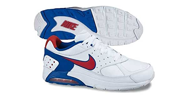 Nike Air Max Faze Sneaker da Uomo, White Red Blue, 40