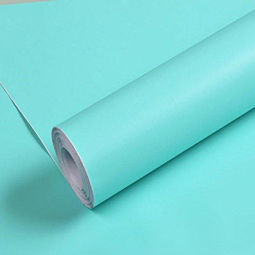 Pegatinas De Pared Wallpapers De Pvc Autoadhesivo 10M X 0.45M,5503 Menta Verde...