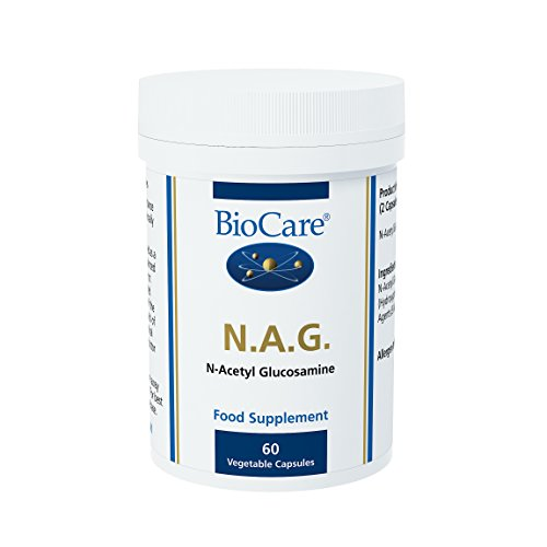 Biocare NAG (N-acetyl glucosamine), 60 vegi tapasules