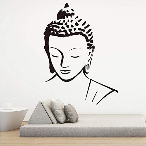 wuyyii 30x41 cm Religion Buddha Muster Wandtattoo Aufkleber Home Decor Abnehmbare Art Vinyl Wandbild für Wohnzimmer bett zimmer Wandkunst dekorationA