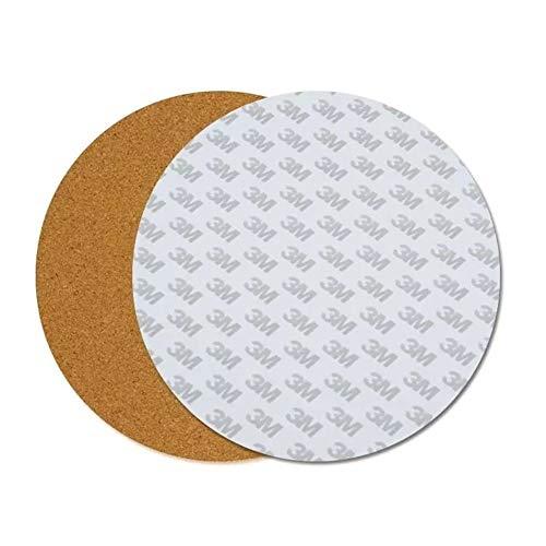 Zhouchenchen Zubehörwerkzeug 220 * 3mm Runde beheiztes Bett Heizkissen Isolierung Baumwolle mit Kork Kleber for 3D-Drucker -