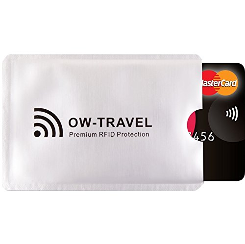 Suresecure Rfid Nfc Blocking Credit Card Protector Sleeves For