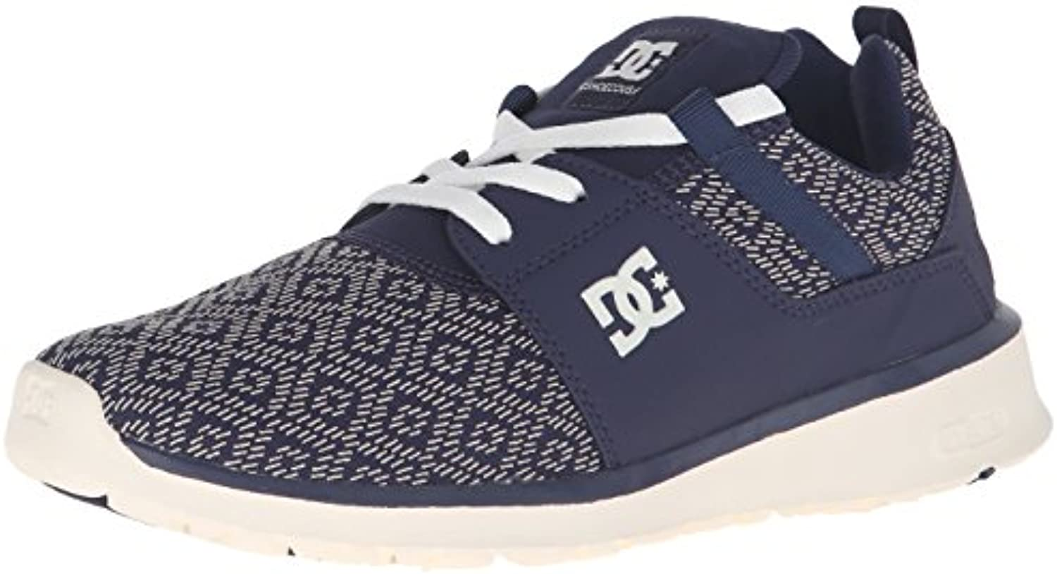 DC Heathrow SE Low Top Shoe  Navy  7.5 M US