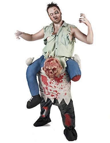 Erwachsene Kostüm Für Zombie - Party Pro 87385Kostüm k-lifourchon Zombie Erwachsene, Mehrfarbig