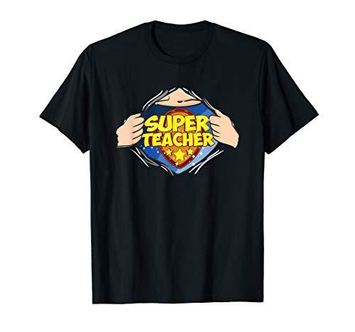 Super Lehrer Superteacher  T-Shirt