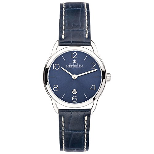 Michel Herbelin Equiliero noxe Mujer Reloj Azul/Plata 16977/15BL