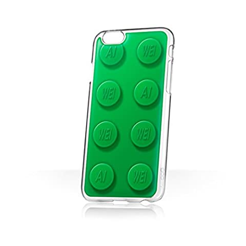Ai Weiwei ai-bricks X goo. EY–Hände frei Handytasche/Schutzhülle/Etui für Apple iPhone 6/6S–(Big Grün)