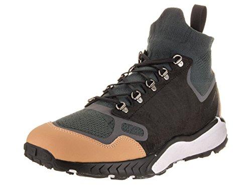 NIKE Air Zoom Talaria Mid Flyknit Premium Schuhe Herren Sneaker Turnschuhe Schwarz 875784 001, Größenauswahl:44.5 (Schuh Cross Training Mid)